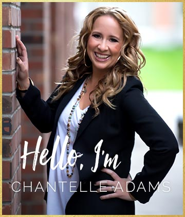 Hi! I'm Chantelle Adams