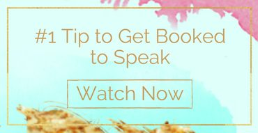 #1 Tip to Get Booked to Speak