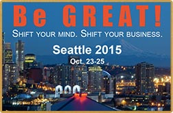 Be Great Conference Seattle 2015