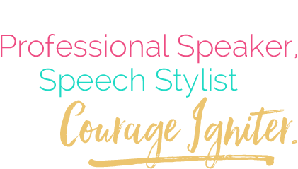 Chantelle Adams is a Professional Speaker, Speech Stylist and Courage Igniter