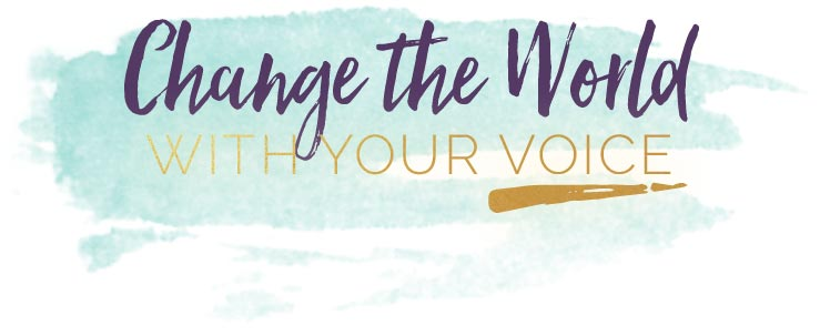 Change-the-World-with-your-voice