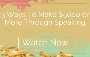 3 Ways To Make $5000 Through Speaking
