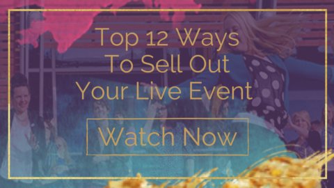 Top 12 ways to sell out live event - Speak Your Way To The Top video